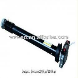 Tubular rolling shutter motors
