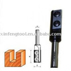 Tungsten Carbide Straight Bit with Reverible Knives