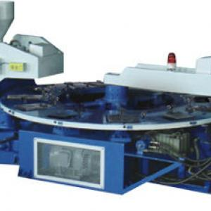 TWO-color strap injection moulding machine