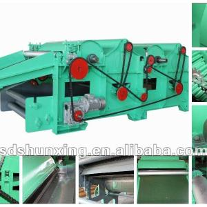 Two Roller Blow Room/Card Dropping/ Card Fly Recycling Machine