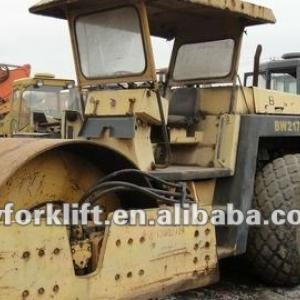 used BW road roller