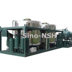 Used motor oil re refining machine