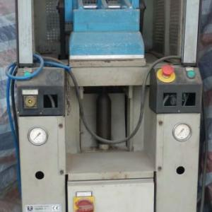 used TECNO 2 T30 one station pneumatic press for attaching walled sole