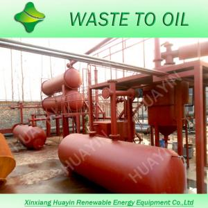 Used Tyre Recycling Machine, Scrap Tires Pyrolysis System With S310 Reactor