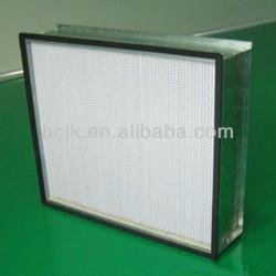 V-bank,compact HEPA filter for hospital