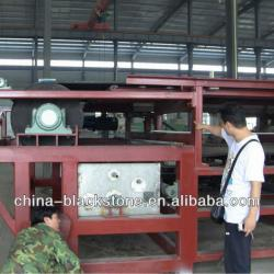 vacuum belt filter press for sludge dewatering