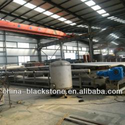 vacuum belt filter press in Separation Equipment used in color acid AS