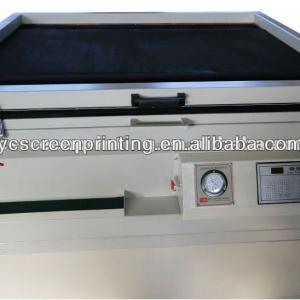 vacuum exposing machine for screen frame exposure machine in screen printing
