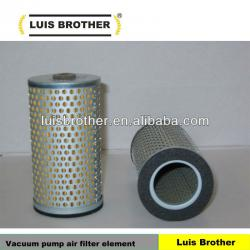 Vacuum pump air filter element 765 001 6023