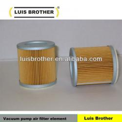 Vacuum pump air filter element 909505