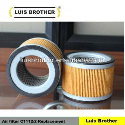 Vacuum pump air filter element C 1112/2