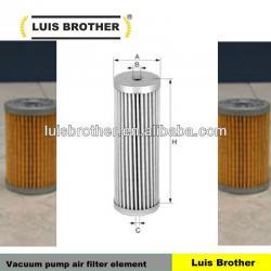 Vacuum pump air filter element C 43