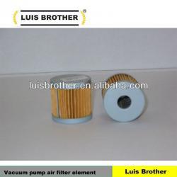 Vacuum pump air filter element C44