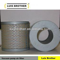 vacuum pump air intake filter element 84040207