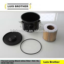 Vacuum pump Inline filter Ref No 0530000002