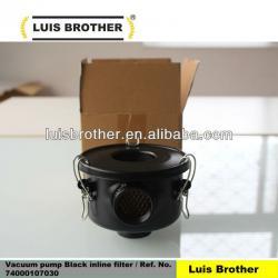 Vacuum pump Inline filter Ref No 74000107030