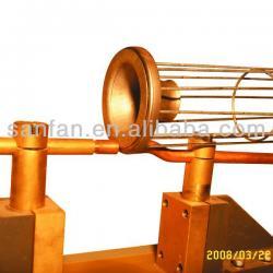 Venturi tube welding machine for filter cages