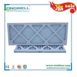 Washable Extended surface plank prefilter MERV13 prefilter,MERV air filters