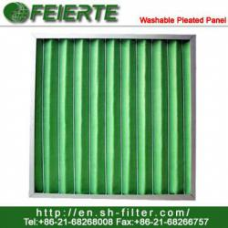 Washable Pleated Panel Filter