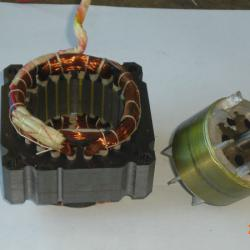 Washing Machine Motor Spare Parts Stator Winding Machine