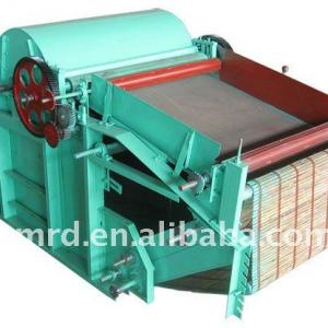 waste cotton fiber opening machine
