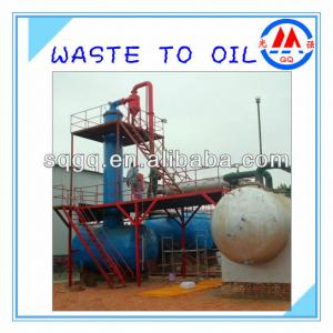 Waste Engine Oil/Crude Oil Distillation Plant