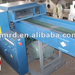 waste old cloth garment cutting machine