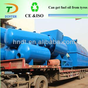 waste pyrolysis recycling tire system