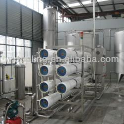 water treatment equipment for drinking water production