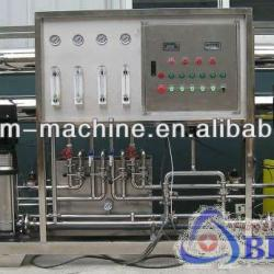 Water treatment for pure water filtering machine