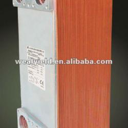 Weal Yield heat exchanger for water heat solar