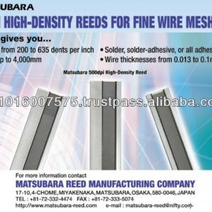 Weaving metal reeds, Steel Heald , Steel Droppers for Production of Higher Grade Fabrics