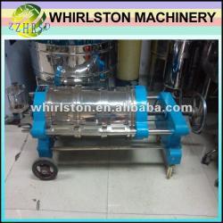 whirlston automatic horizontal kieselguhr filter for wine