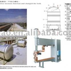 Whole Plant Equipment For Stainless Steel Water Tanks