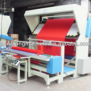 Winding and Checking Machine for textile with Automatic Edge-aligning