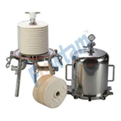wine filter machine (Lenticular filter housing)