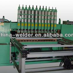 Wire shelving whole plant welding machine