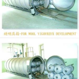 Wool Top Heat Setting Machine