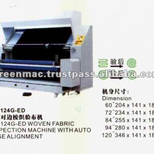 Woven Fabric Inspection Machine With Auto Edge Alignment