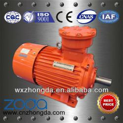 YB2, YBK2, YBF2, YB3 series explosion-proof asynchronous AC motors(H63-355mm)