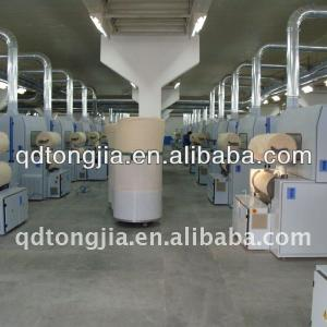 Zig zag cotton pad production line for surgical
