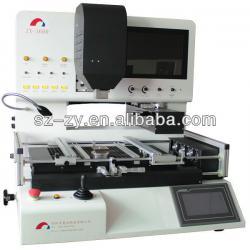 ZX-1600 automatic optic alignment bga rework station touch screen repair pop qfn qfp solder paste