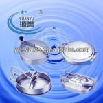 stainless steel sanitary square tank manhole cover for dairy industry-