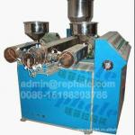 Tube extruding machine. beverage tube making machine,ice cream stick making machine,sugar stick making machine,pen holder machin-