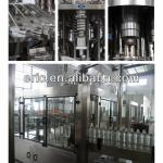 3 in 1 rinsing filling capping machinery-