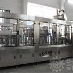 PLC control carbonated water bottling plant-