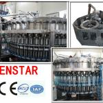 3 in 1 carbonated soft drinks filling plant-