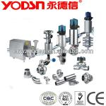 Sanitary Stainless Steel valves and pumps china-