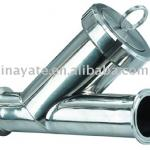 Stainless Steel Y Type Clamped Strainer-
