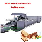 Hollow wafer biscuits baking oven-